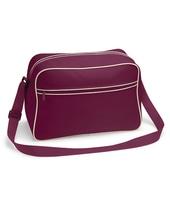 Retro Shoulder Bag (Burgundy)