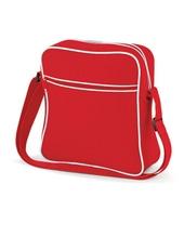 Retro Flight Bag (Classic Red)