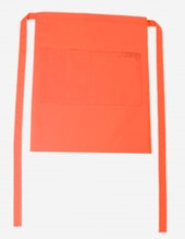 Bistroschürze Roma Bag 50 x 78 cm (Orange)