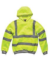 Hochsichtbares Kapuzen-Sweatshirt (Saturn Yellow)