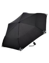 Safebrella®-LED Mini Taschenschirm (Black)