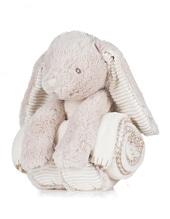 Rabbit and Blanket (Cream)