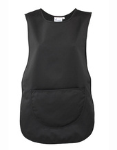 Womens Pocket Tabard (Black)