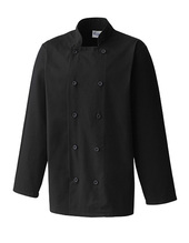 Essential Long Sleeve Chef´s Jacket (Black)