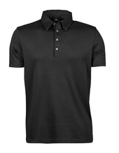 Pima Cotton Polo (Black)