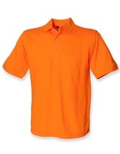 Men`s 65/35 Classic Piqué Polo Shirt (Orange)