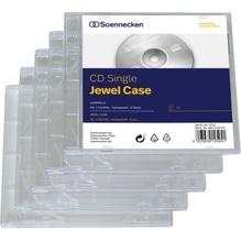 Soennecken CD/DVD Jewel Case 4712 Kunststoff transparent 5 St./Pack.