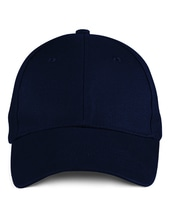 Solid Brushed Twill Cap (Navy)