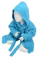 Babiezz Bathrobe with Hood (Aqua Blue)
