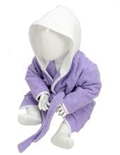 Babiezz Bathrobe with Hood (Light Purple)