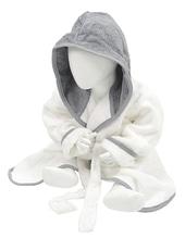 Babiezz Bathrobe with Hood (White)