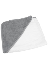Baby Hooded Towel (White)