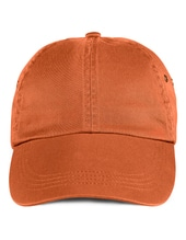 Low-Profile Twill Cap (Burnt Orange)