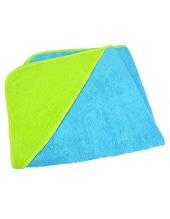 Baby Hooded Towel (Aqua Blue)