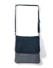 Messenger Bag DNM VIBE /BIG (Deep Blue Denim)