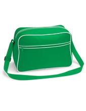 Retro Shoulder Bag (Pure Green)