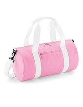 Mini Barrel Bag (Classic Pink)