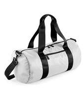 Studio Barrel Bag (Silver)