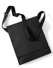 Budget Vertical Messenger Bag (Black)