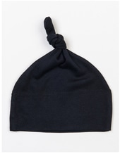 Baby One Knot Hat (Black)