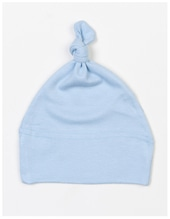 Baby One Knot Hat (Dusty Blue)