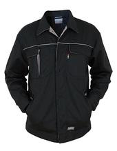 Contrast Work Jacket (Black)