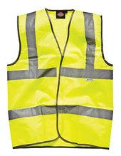 Sicherheitsweste mit Klettverschluss (Saturn Yellow)