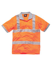 Hochsichtbares GO/RT-Polo-Shirt (High Visibility Orange)