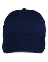 Low-Profile Twill Cap (Navy)