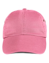 Low-Profile Twill Cap (Charity Pink)
