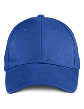 Solid Brushed Twill Cap (Royal Blue)