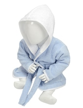 Babiezz Bathrobe with Hood (Light Blue)