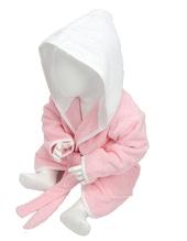 Babiezz Bathrobe with Hood (Light Pink)