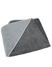 Baby Hooded Towel (Graphite)