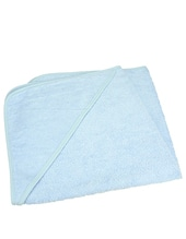 Baby Hooded Towel (Light Blue)