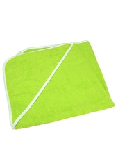 Baby Hooded Towel (Lime Green)