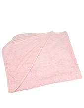 Baby Hooded Towel (Light Pink)