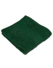 Classic Handtuch inklusive Namenstickerei (Bottle Green (Dark Green))