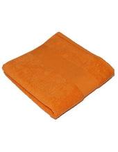 Classic Handtuch inklusive Namenstickerei (Sunny Orange (Orange))