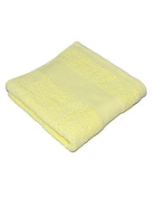 Classic Duschtuch inklusive Namenstickerei (Light Yellow (New Light Yellow))