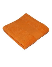 Classic Duschtuch inklusive Namenstickerei (Sunny Orange (Orange))