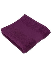 Classic Duschtuch inklusive Namenstickerei (Purple)