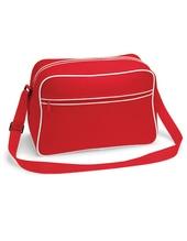 Retro Shoulder Bag (Classic Red)