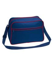 Retro Shoulder Bag (French Navy)