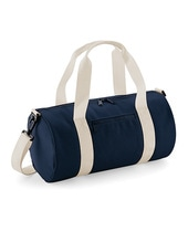 Mini Barrel Bag (French Navy)
