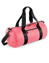 Studio Barrel Bag (Electric Pink)