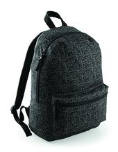 Graphic Backpack (Black Geometric)