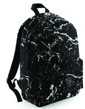 Graphic Backpack (Black Mineral)