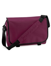 Messenger Bag (Burgundy)
