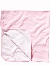 Baby Rib Reversible Blanket (Pink)